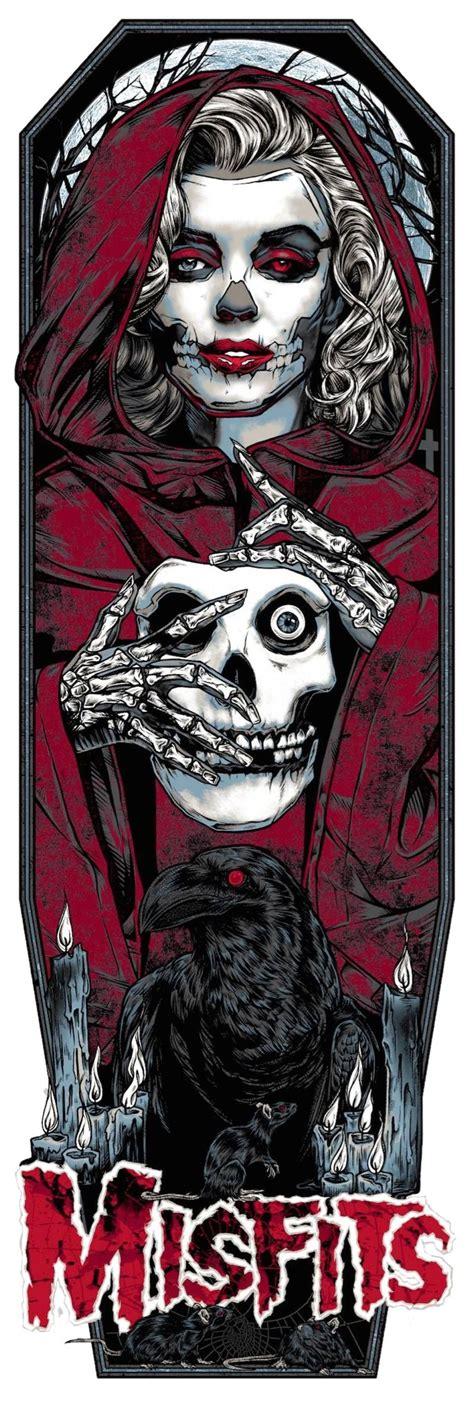 Misfits | Rhys cooper, Carteles de banda, Ilustraciones