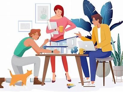 Teamwork Illustrations Team Power Dribbble Kso Icons8