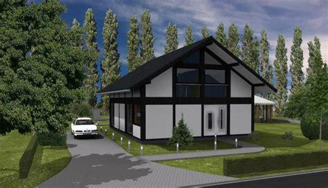 Modernes Fachwerkhaus Meets Bauhaus  Haus Grundriss