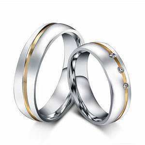 wedding ring for women men 316l stainless steel love ring With stainless steel wedding rings for men