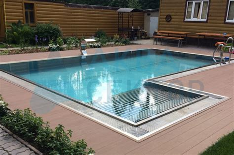 Outdoor Overflow Pool 8х4