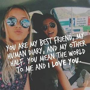 Best Friend Quotes, Best Friendship Sayings for BFF