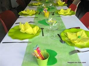 Nappe Noire Papier : id es et conseils d co tables nappes en fete ~ Teatrodelosmanantiales.com Idées de Décoration