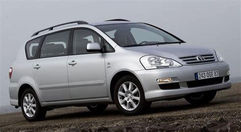mpv toyota toyota avensis verso minivan mpv 2003 2006 technical