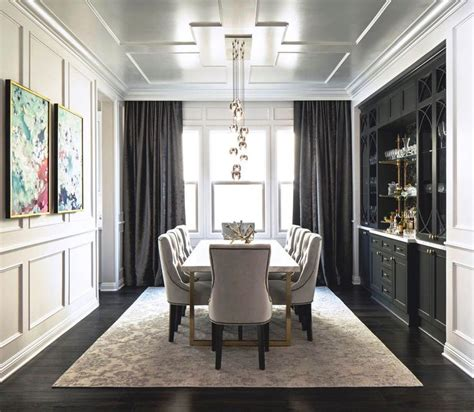Dining Room Set And Interior Design Ideas Photos by Best 25 Transitional Dining Rooms Ideas On