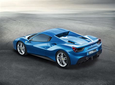 Founded by enzo ferrari in 1939 out of alfa romeo's race division as auto avio this is one of the most notorious sports cars all around the world that many people would love to have in their lifetime. Wallpaper 2016 Ferrari 488 Spider Luxury Light Blue Cars ...
