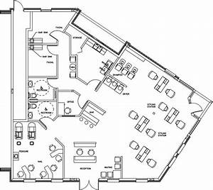 beauty salon floor plan design layout 2232 square foot With hair salon floor plans download
