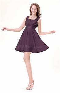 plum modest sleeveless zipper chiffon ribbon wedding guest With plum dress for wedding guest