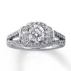 kays jewelry wedding rings engagement ring 1 1 3 ct tw cut 14k white gold