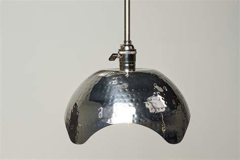 2 bulb light fixture hammered gold brushed nickel edison bulb pendant light