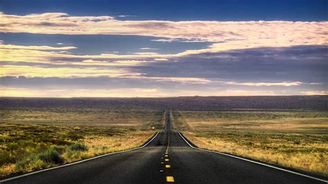 endless road wallpaper