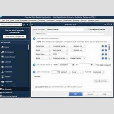 Price Level Management Software  Quickbooks Desktop Enterprise  Quickbooks Desktop Enterprise