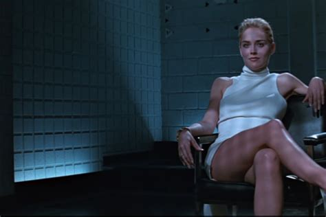 Sharon Stone Shares A Clip From Her 'basic Instinct