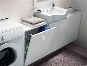 Meuble Salle De Bain Gain De Place : meuble pour toute petite salle de bain avec planetebain ~ Dailycaller-alerts.com Idées de Décoration