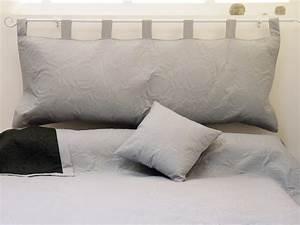 Tete De Lit Rideau : t te de lit patte matelass e microfibre 52x142 cm pas ~ Preciouscoupons.com Idées de Décoration