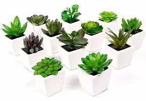 Pot De Fleur Artificielle : mini plante artificielle en pot fleuriste bulldo ~ Teatrodelosmanantiales.com Idées de Décoration
