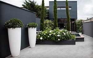 Comment Disposer Des Pots Sur Une Terrasse : maison de ville bordeaux caud ran ou l 39 art d optimiser l ~ Melissatoandfro.com Idées de Décoration