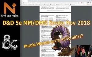 D U0026d 5e Monster Manual  Dungeon Master U0026 39 S Guide Errata