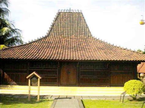 desain arsitektur rumah adat joglo tradisional