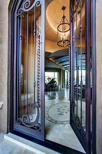 Wrought Iron And Glass Front Entry Door Designs Paris
