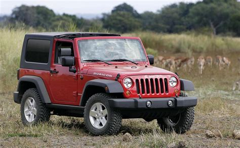 2007 Jeep Wrangler Rubicon Picture 96839 Car Review