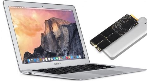 amac book air how to upgrade replace an ssd in macbook air
