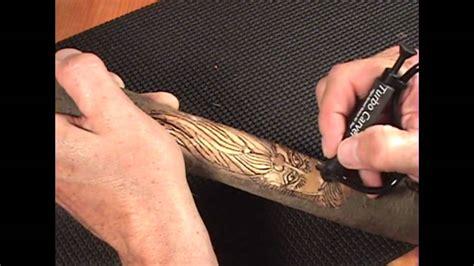 carve  walking stick   turbo carver youtube
