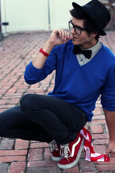 Hipster glasses bow-tie Vans ) minus the piercing! u0026gt;.