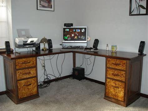 walnut  mappa wood corner desk  lostalos  lumberjockscom woodworking community