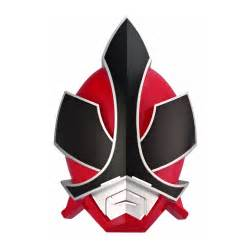 Red Power Ranger Samurai Mask