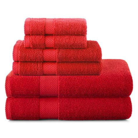 Jcpenney Bath Towel Sets by Jcpenney Home Solid Bath Towels