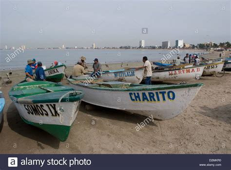 Panga Boats Mexico Buy by Commercial Fishing Boats Pangas On The Beach At