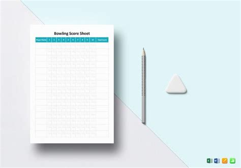 score sheet templates   word excel  document