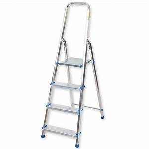 Leiter 8 Stufen : leiter aluminium 4 stufen 157 cm klapptritte ~ Watch28wear.com Haus und Dekorationen
