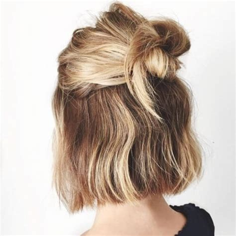 cool ways   sport updos  short hair hair