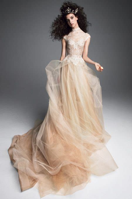 vera wang bridal fall  wedding dresses fashion