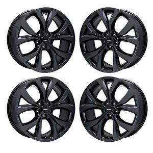 19 quot chrysler 200 black chrome wheels rims factory oem 2016