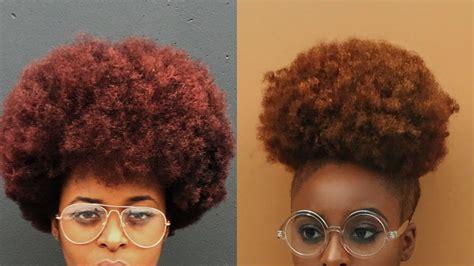 How To Dye Natural Hair At Home (no Bleach)    Ronkeraji