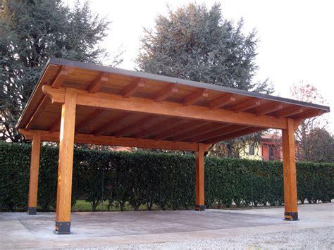 Coperture Per Tettoie In Legno by Carport In Legno Lamellare Modello Classic C02208