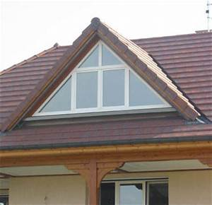 Lucarne De Toit : montage de store vertical sur baie vitr e en lucarne triangle ~ Melissatoandfro.com Idées de Décoration