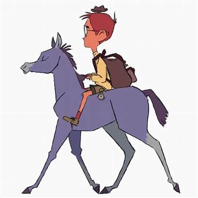 Animation Horse Cartoon Reference Ride Animated Eva
