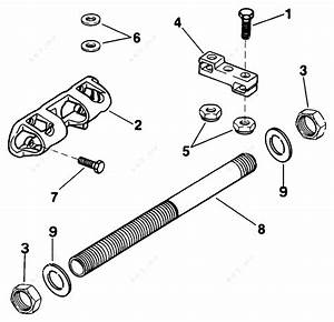 Evinrude 1991 175 - E175gleis  Dual Steering Connector Kit