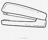 Stapler Coloring Pngfind sketch template