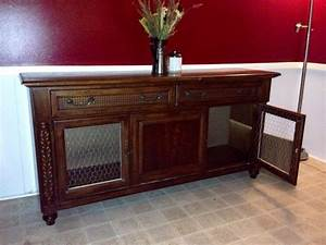 7 best images about incognito kennels on pinterest chain With dog crate buffet table
