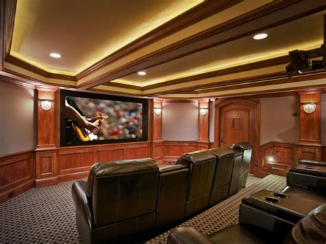 Home Theater Bedroom Design Ideas by Basement Home Theaters And Media Rooms Pictures Tips