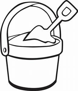 sand bucket With sand bucket template