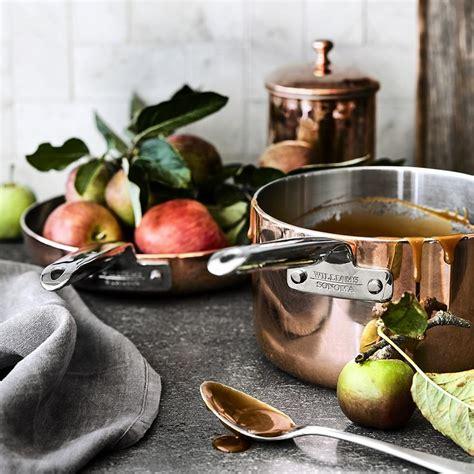 williams sonoma professional copper saucepan williams sonoma au