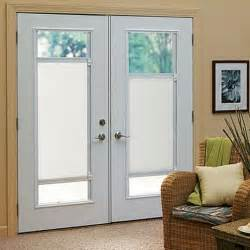 Enclosed Window Blinds for French Doors