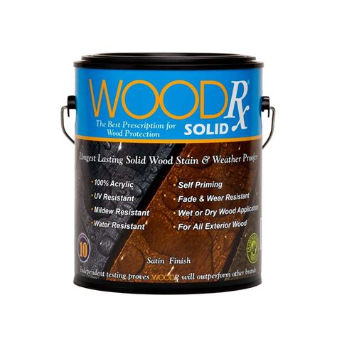 woodrx  gal saddle solid wood exterior stain  sealer