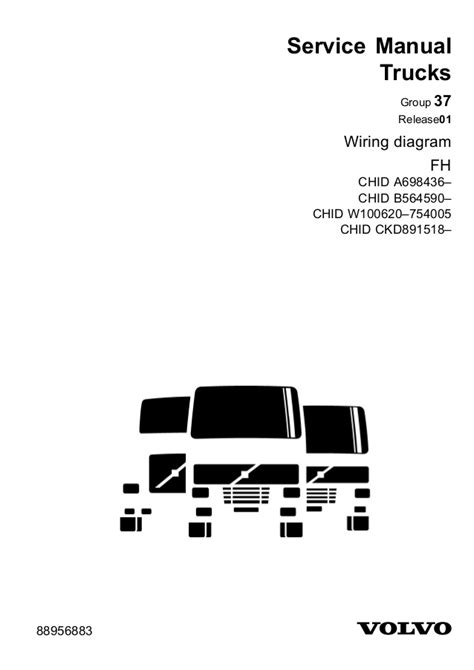 Volvo Fh12 Version 2 Wiring Diagram by Volvo Wiring Diagram Fh